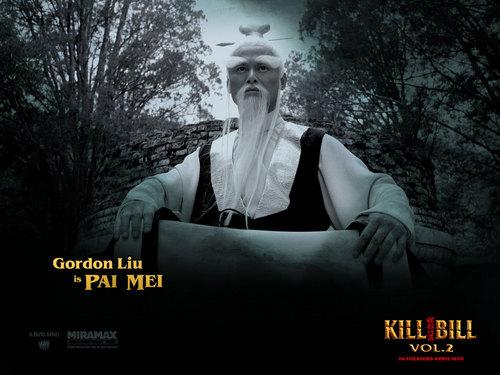 Kill Bill wallpaper entitled Pai Mei