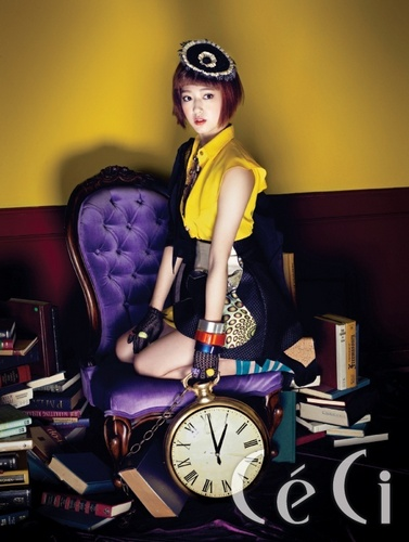 Park Shin Hye – Ceci Magazine