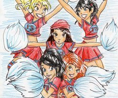 Percy Jackson Cheerleaders!
