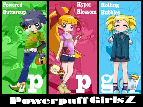 Powerpuff wall!