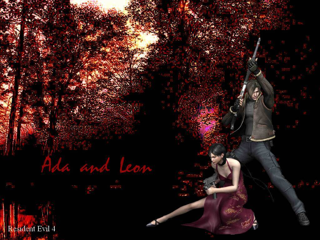 Re4 Leon Ada Resident Evil 4 Wallpaper 20511830 Fanpop