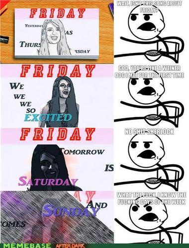 Rebecca Black and Cereal Guy