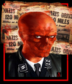 Red Skull portrait - captain-america fan art