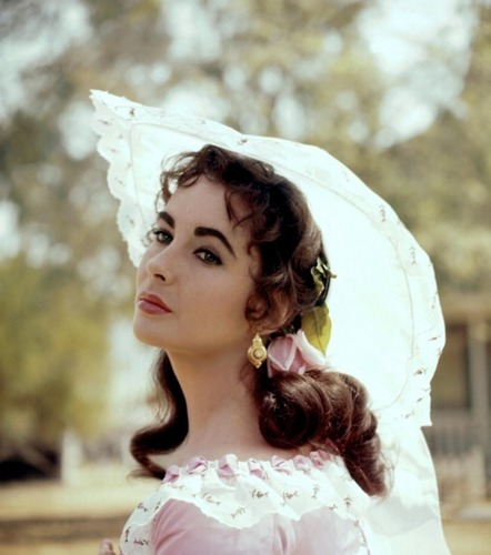 Elizabeth Taylor karatasi la kupamba ukuta possibly with a bridesmaid and a mantilla titled Remembering Elizabeth Taylor