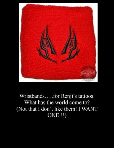 Renji's Tattoos Wristband