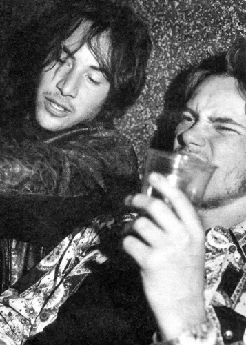 River Phoenix & Keanu Reeves wallpaper entitled River and Keanu on Party
