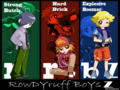 RowdyRuff Boys Z WALL! - powerpuff-girls-z-and-the-rowdyruff-boys-z wallpaper