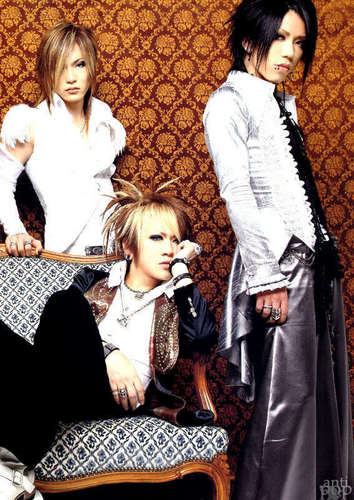 Ruki, Uruha and Aoi
