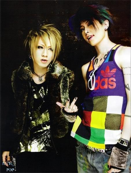 Ruki And Miyavi Japanese Bands Photo 20564582 Fanpop