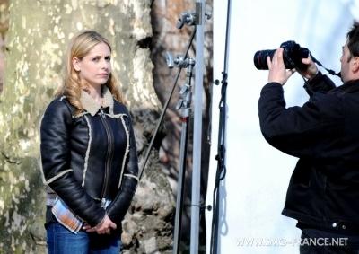 Sarah Filming Ringer - 28/03