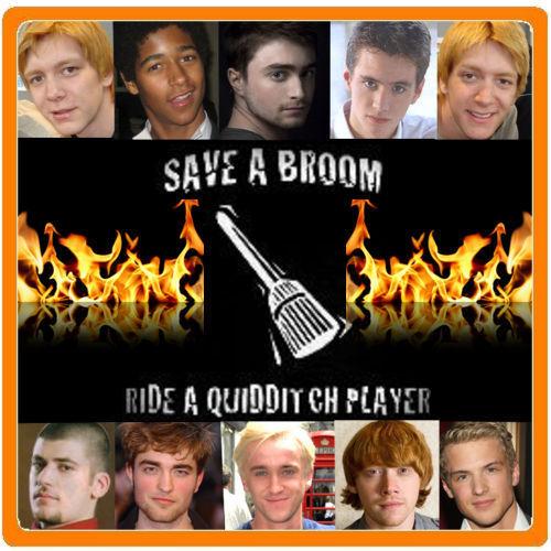 Save a broom
