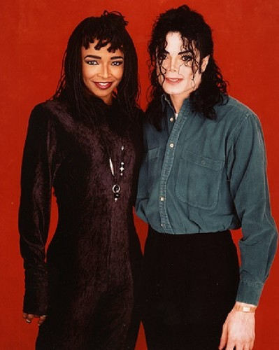 Siedah Garrett and Michael