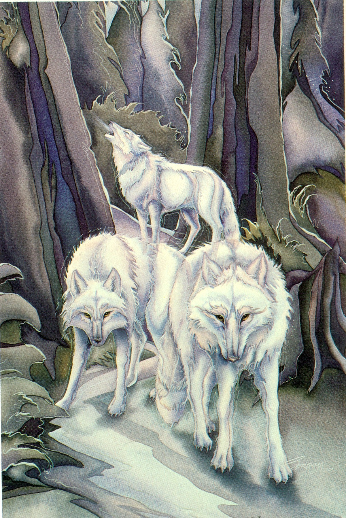Wolves song of the wolf