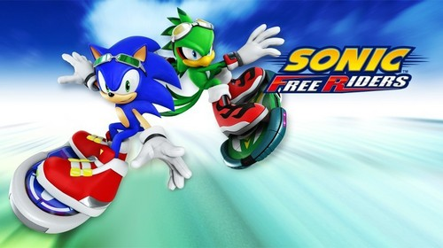 Sonic Free Riders Обои