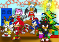 Sonic and friends christmas party