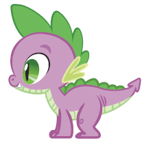 Spike - my-little-pony-friendship-is-magic Photo