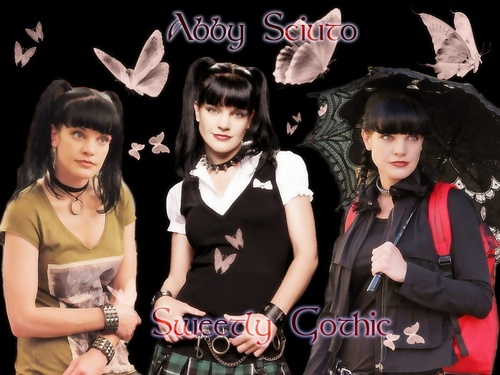 Sweetly Gothic - abby-sciuto Wallpaper