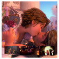 Tangled Movie(2010) - flynn-and-rapunzel screencap