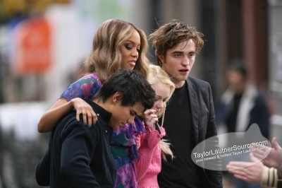 Taping the Tyra Banks toon in NYC, November 20th, 2008- Taylor <3