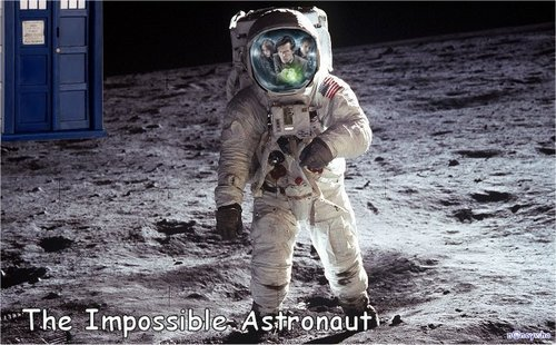 神秘博士 壁纸 possibly with a rifleman, a navy seal, and a green 贝雷帽 called The Impossible Astronaut