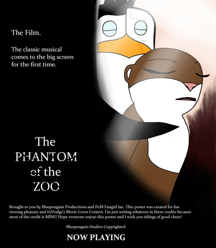 The Phantom Of The Zoo (67Dodge's Movie Cover Contest, Semifinals)