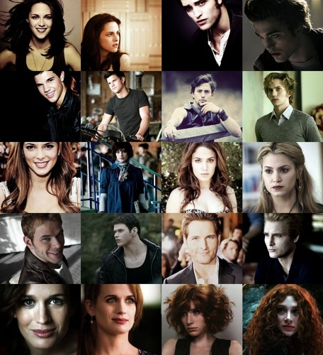 Twilight Actors and their Characters