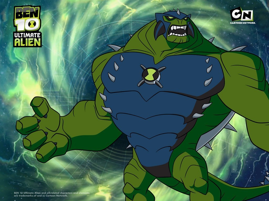 Ultimate HUMONGOSAUR - Ben 10: Ultimate Alien Wallpaper (20559640 ...