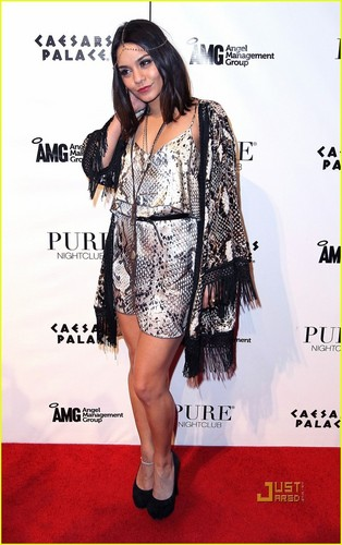 Vanessa Hudgens Celebrates 'Sucker Punch' in Las Vegas