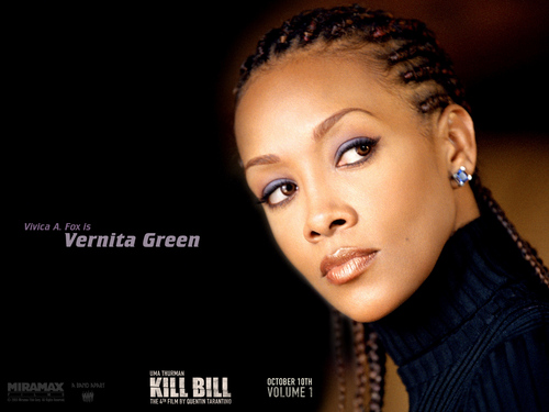 Kill Bill wallpaper with a portrait titled Vernita Green