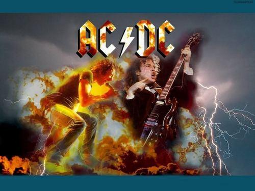 karatasi la kupamba ukuta - AC/DC