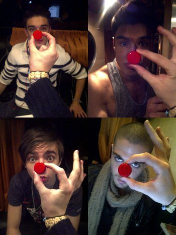 Wanted (I Will ALWAYS Support Wanted No Matter What) Red Nose Day! (Jays Hand) 100% Real :) x