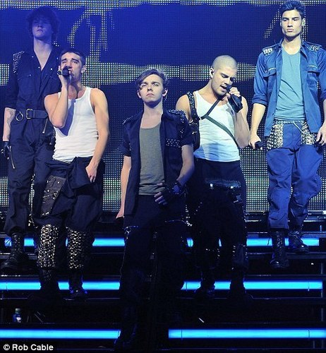Wanted Kick Off Their 1st EVA Tour At Manchester Apollo Hot! 100% Real :) x