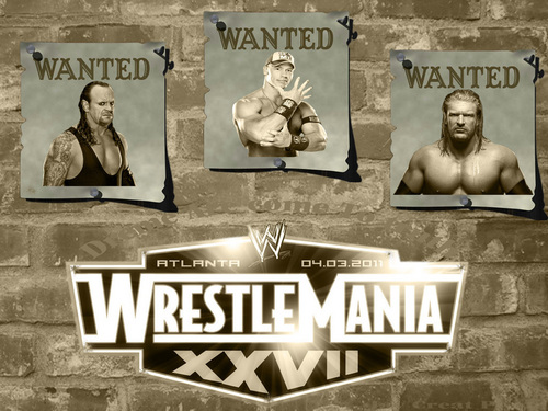 WrestleMania 27 - wwe Wallpaper