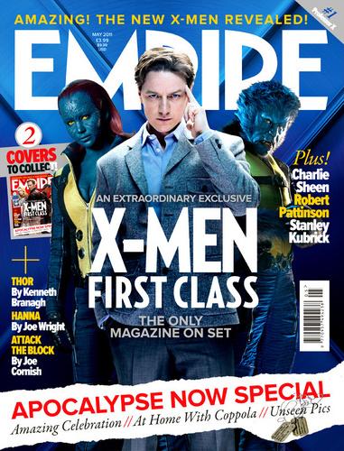 X-Men: First Class- Empire Cover