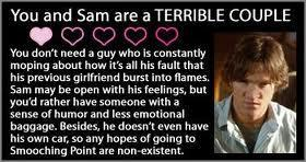 toi and Sam are a terrible couple
