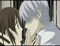 Yuki and Zero - vampire-knight-yuki-zero screencap