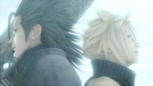 Zack and wolk _ Final Fantasy VII AC
