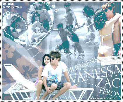 Zac Efron & Vanessa Hudgens wallpaper probably containing a portrait entitled Zanessa