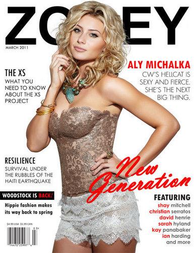 Zooey Magazine - March 2011