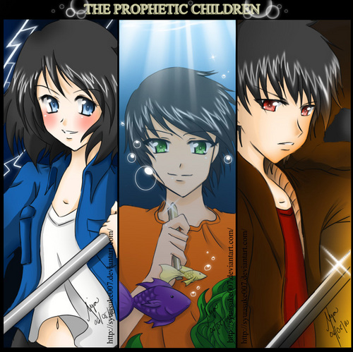 big 3 children...NICO<3, PERCY, AND thalia