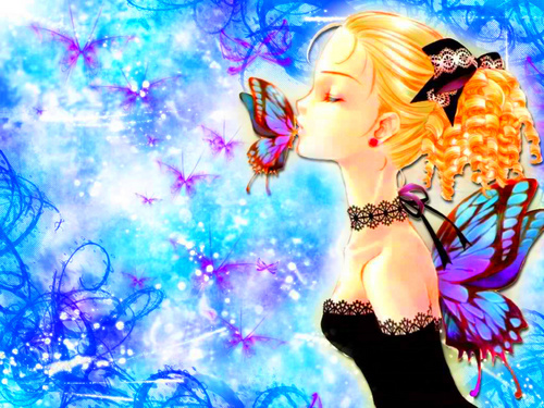 butterfly wallpaper - cynthia-selahblue-cynti19 Photo