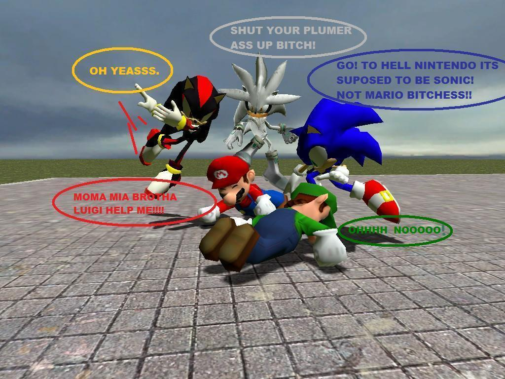 Mario And Sonic Images F Ck Mario Hd Wallpaper And Background Photos