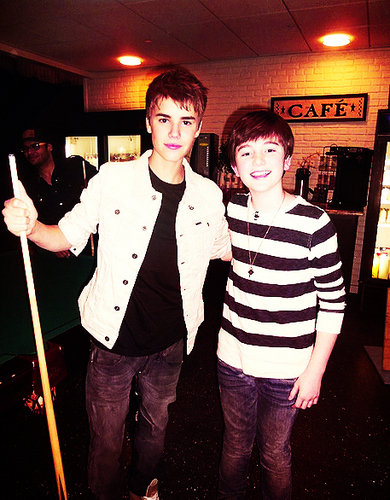 justin and greyson :)