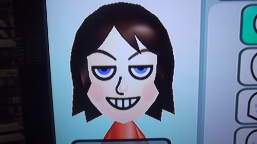 kate as a mii on the wii