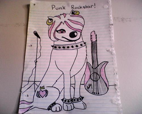 lillys a punk rockstar!!!!!