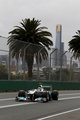nio rosberg qualifying at melbourne,australia..