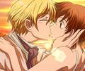 real kiss?