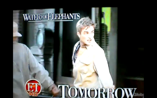 robert in water for éléphant