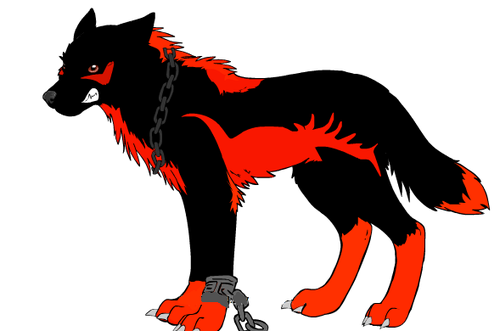 shadow serigala, wolf :3