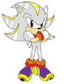silvagold the hedgehog - sonic-and-the-hedgehog-brothers photo